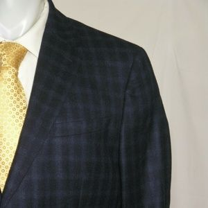 Reiss Walter Flannel Weight Two Button Suit 44R